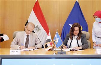 محافظ دمياط تستقبل المدير الإقليمى لمكتب الدول العربية فى الأمم المتحدة للمستوطنات البشرية | صور