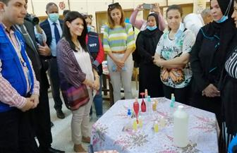 تفاصيل زيارة وزيرة التعاون الدولي لمدينة الطود في الأقصر | صور