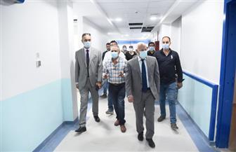 محافظ بورسعيد يتفقد مركز الرباط الطبي تمهيدا لافتتاحه | صور
