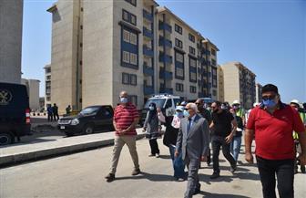 محافظ بورسعيد يعلن موعد تسليم 7962 وحدة سكنية بالمرحلة الثالثة للإسكان الاجتماعي | صور