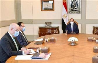 الرئيس السيسي يستعرض مشروعات تنمية الساحل الشمالي الغربي والاستغلال الأمثل لأراضيه
