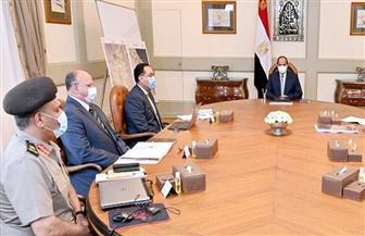 الرئيس السيسي يستعرض الموقف التنفيذي لتطوير المناطق السكنية العشوائية وغير الآمنة في محيط القاهرة