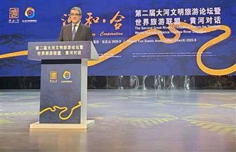 سفير مصر بالصين يشارك في افتتاح المنتدى الثاني لحضارات الأنهار العظمى للسياحة| صور