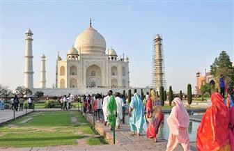 """الهند تعيد فتح """"تاج محل"""" وقلعة """"أغرا"""" بعد إغلاق 6 أشهر بسبب كورونا"""