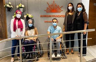 صندوق «عطاء» يوقع بروتوكول تعاون لتوفير الكراسي المتحركة | صور