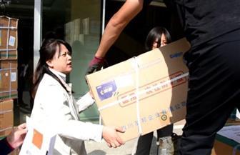 انطلاق قافلة إمدادات «نينغشيا الصينية» طبية إلى محافظة الفيوم