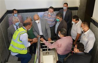رئيس جامعة طنطا يتابع المراحل النهائية لأعمال الإنشاءات بمستشفى الجراحات الجديد   صور