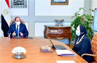 الرئيس السيسي يوجه بتسهيل إجراءات التعاقد الخاصة بوحدات المجمعات الصناعية