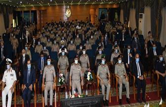 وزير الدفاع يشهد مناقشة البحث الرئيسي لأكاديمية ناصر عن المتغيرات الدولية وتأثيرها على المصالح المصرية