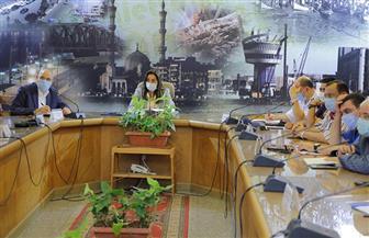 محافظ دمياط تعقد اجتماعا طارئا لوضع خطة مواجهة ارتفاع منسوب مياه نهر النيل | صور