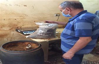 إعدام 3 أطنان أغذية متنوعة ومشروبات غير صالحة في حملة بالدقهلية |صور