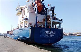 تداول 27 سفينة وشحن 3060 طن صودا كاوية بموانئ بورسعيد | صور