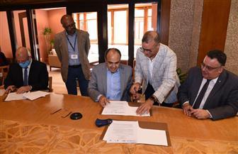 توقيع مذكرة تفاهم بين الشركة القابضة للمياه والجامعة الأمريكية وجامعة الإسكندرية لتأسيس مركز تميز المياه| صور