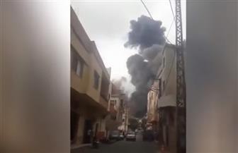 انفجار قوي يهز بلدة عين قانا في جنوب لبنان