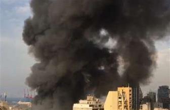 سقوط ضحايا في انفجار بلدة عين قانا بجنوب لبنان.. وسحب الدخان تظلل موقع الانفجار