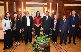 وزيرة الهجرة تثمن دور السلطة التشريعية وتكرم عددا من النواب ممثلي المصريين بالخارج في البرلمان| صور