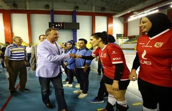 الخطيب يهنئ «سيدات الطائرة» ببطولة كأس مصر
