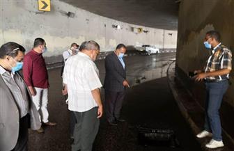 محافظ أسيوط: تجارب عملية بالأنفاق والكباري للتأكد من جاهزيتها لمواجهة السيول والأمطار| صور
