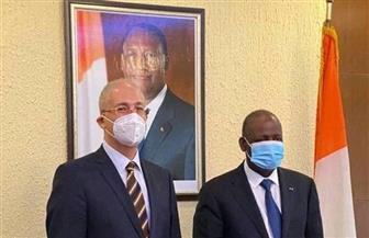 وزير خارجية كوت ديفوار يستقبل السفير المصري لبحث سبل تعزيز علاقات التعاون