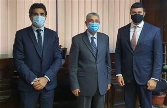"""وزير الكهرباء يلتقي المدير الإقليمى لشركة """"سايبم"""" الإيطالية"""