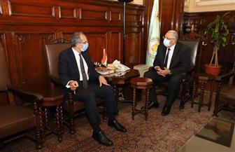 عمرو طلعت يشهد اتفاقية تعاون بين وزارة الاتصالات وجامعة الإسكندرية | صور