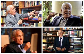 97 عاما على ميلاده.. تجليات الأستاذ محمد حسنين هيكل| صور