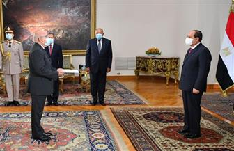 الرئيس السيسي يتسلم أوراق اعتماد 15 سفيرا جديدا بالقاهرة | صور
