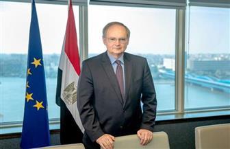 رئيس وفد الاتحاد الأوروبي في مصر: لدينا 20 مليون مهاجر في منطقة الاتحاد الأوروبي