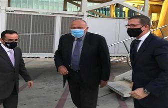 وزير الخارجية يصل عمان للمشاركة في الاجتماع الوزاري الرباعي حول تطورات القضية الفلسطينية