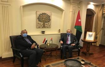 مصر والأردن تؤكدان دعم استعادة الحقوق الفلسطينية وضرورة التوصل لتسوية شاملة وعادلة للقضية | فيديو
