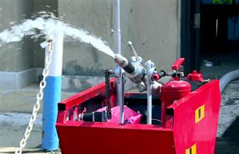 طلاب مصريون يصممون روبوتا للتعقيم وآخر لإطفاء الحرائق | فيديو