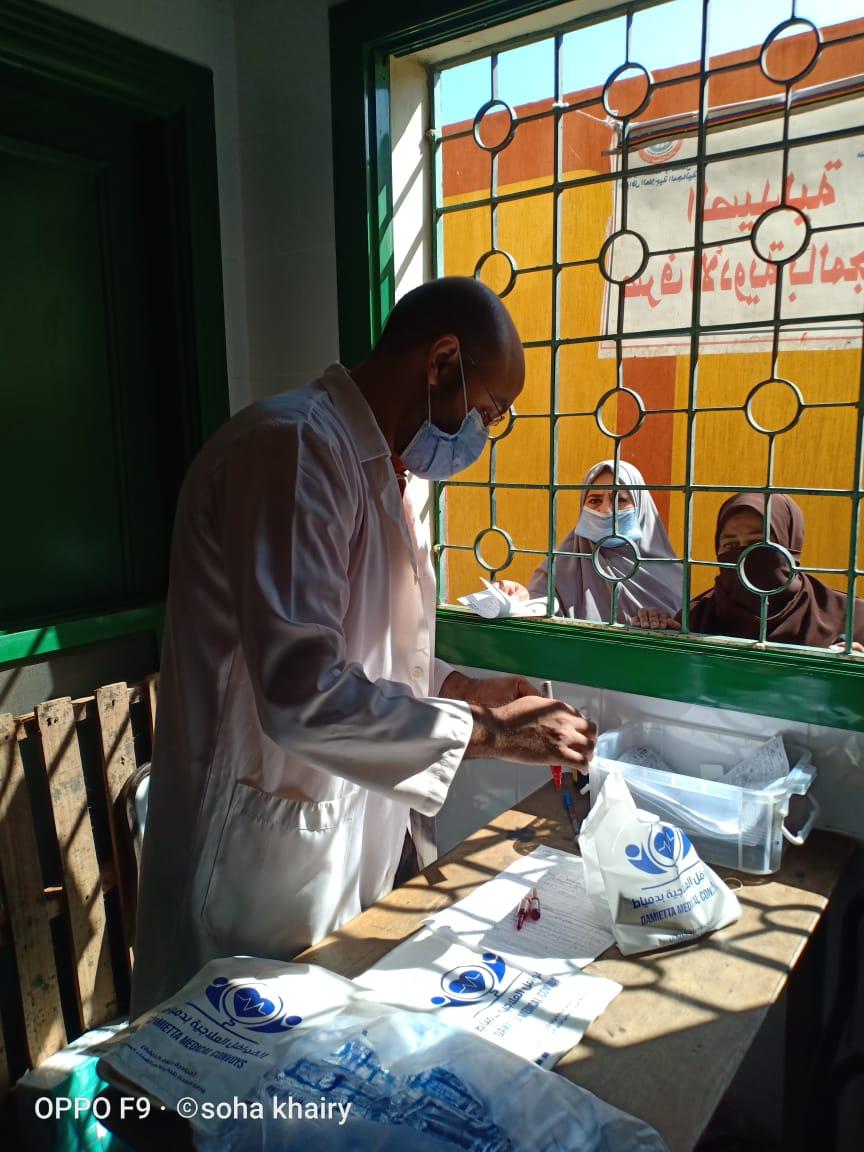قافلة طبية شاملة  بقرية شطا