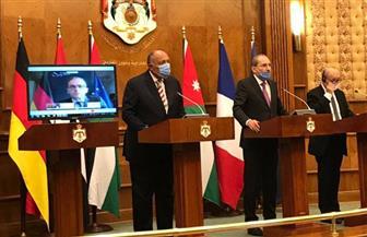 سامح شكري: الاتفاق بين الإمارات والبحرين وإسرائيل يعزز فرص السلام