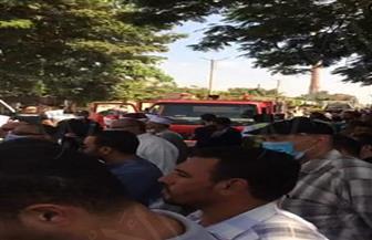 جنازة عسكرية للشهيد الرائد محمد عفت بمسقط رأسه بسرس الليان| صور