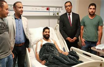 وزير القوى العاملة يتابع حالة المصري الذي تعرض للطعن بالسعودية | صور