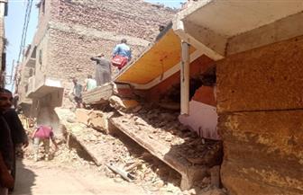 مصرع 6 مواطنين وإصابة اثنين آخرين في انهيار منزل بسوهاج