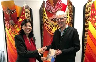 سفيرة مصر تلتقي بالمفوض النيوزيلندي لحقوق الإنسان