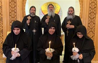 3 راهبات جدد لدير القديسة دميانة بالبراري |صور