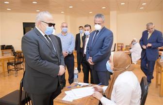 رئيس جامعة القاهرة: تطبيق نظام الامتحانات الموضوعية وفق المعايير العالمية |صور