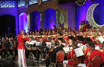 حفل الموسيقات العسكرية على مسرح النافورة بالأوبرا..الأحد| صور