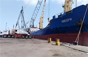 تداول 29 سفينة بضائع وحاويات بموانئ بورسعيد