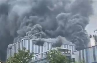 """احتراق مبنى تابع لشركة """"هواوي"""" الصينية    فيديو"""