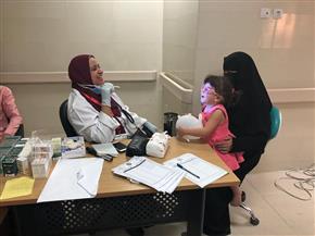 قافلة الأزهر بسيناء توقع الكشف الطبي على 1500 مريض.. وتوزع مواد غذائية على 500 أسرة | صور