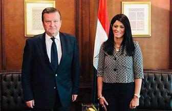 «المشاط» تلتقي سفير أوكرانيا بالقاهرة