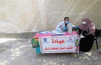 الكشف على 1100 مواطن في قافلة طبية شاملة في قرية البساتين بدمياط | صور