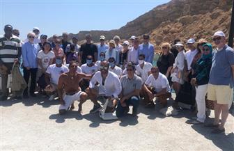 رحلة بحرية خاصة لـ٣٠ سفيرا بشرم الشيخ|صور