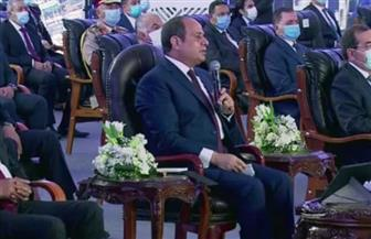 الرئيس السيسي: إنجاز 22 كوبري خلال 6 شهور من أجل راحة المواطنين في مناطق إنشائها