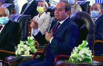 الرئيس السيسي: مسار الإصلاح والتنمية مستمر رغم مخططات الفوضى وزعزعة الاستقرار