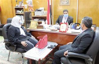 الوادي الجديد تستقبل وفد وحدة المدارس المصرية اليابانية | صور