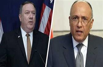 وزير الخارجية ونظيره الأمريكي يبحثان العلاقات الثنائية والقضايا الإقليمية في اتصال هاتفي